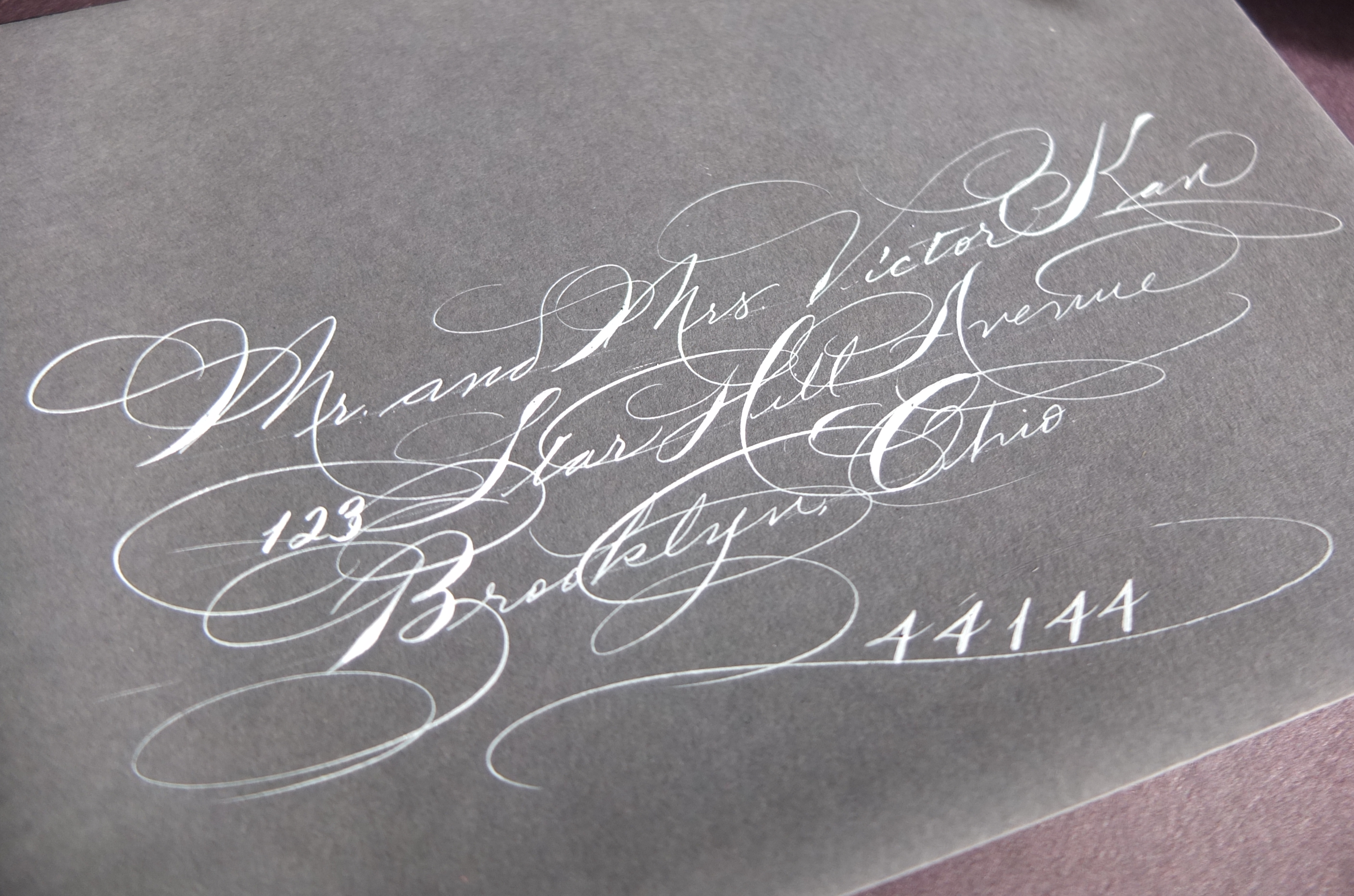 Spencerian Calligraphy Arts